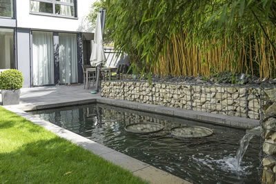 Best Gartenanlagen Mit Wasser Contemporary - House Design Ideas ...